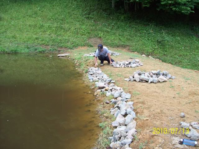 Mike and lisa 39 s world chapter 103 install electric for Putting in a pond