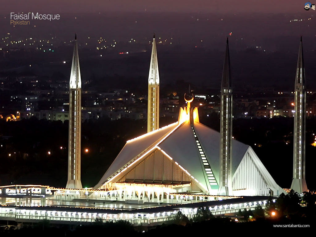 Faisal Mosque HD Wallpaper - Umroh Malang - Umroh Malang
