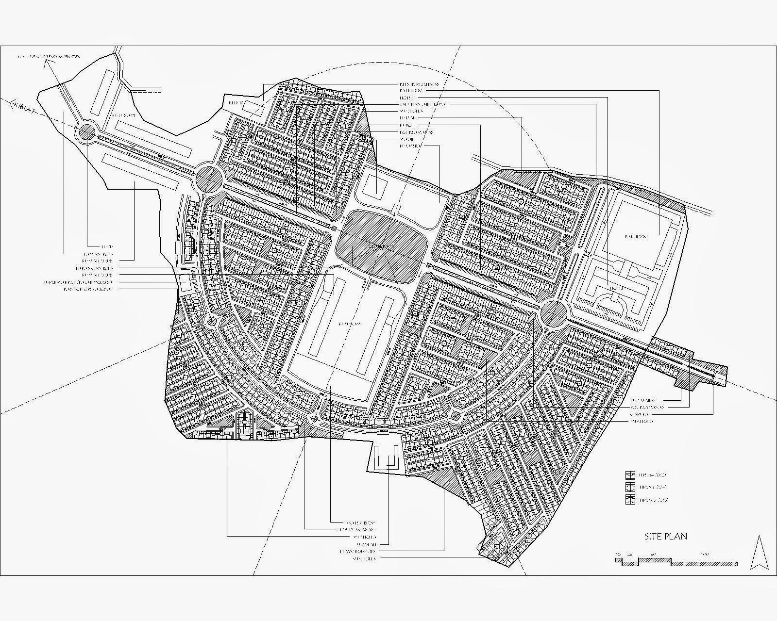 site plan q Savigny-sur-Orge