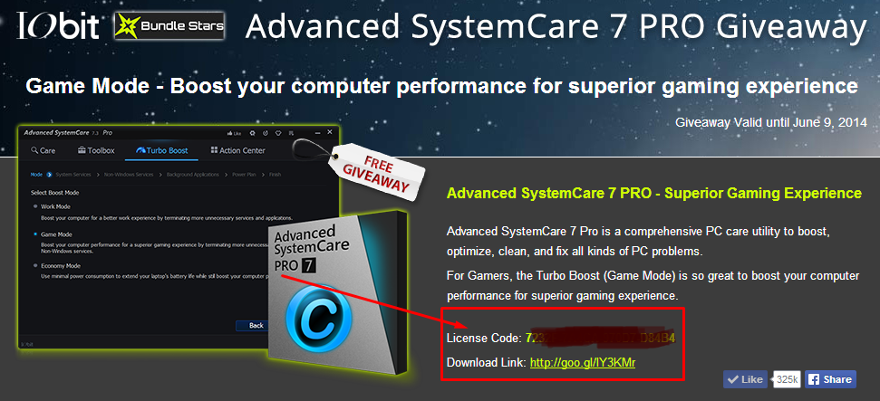 advanced systemcare pro coupon