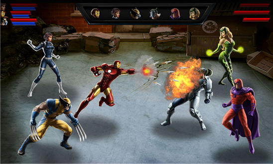Avengers Alliance Windows Phone 8