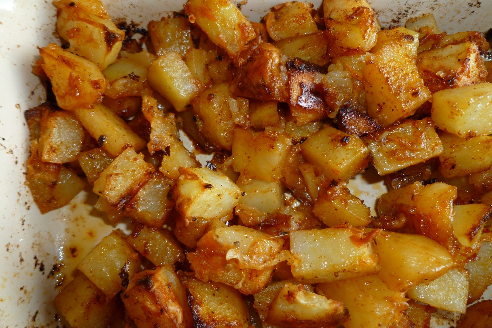 The Pastry Chef's Baking: Parmesan Roasted Potatoes