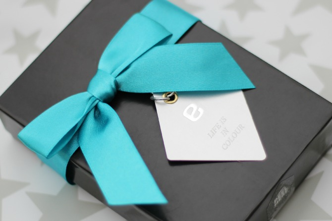 Beautifully presented enail giftbox