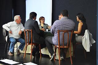 Integrantes do Comitê debatem propostas de ação em grupo de trabalho