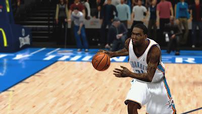 NBA 2K13 Thunder Playoffs DeAndre Liggins Update