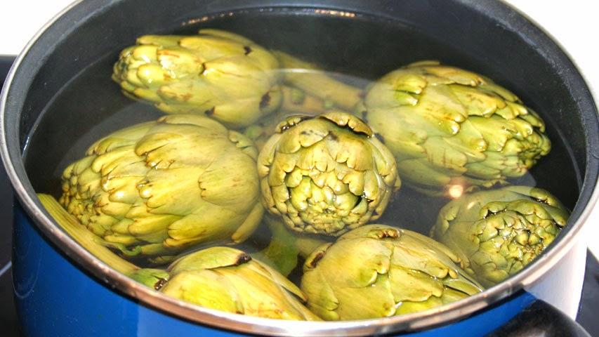 Como Cocinar Alcachofas | Cocina Muy Sencilla Cocer Alcachofas Sin Pelar