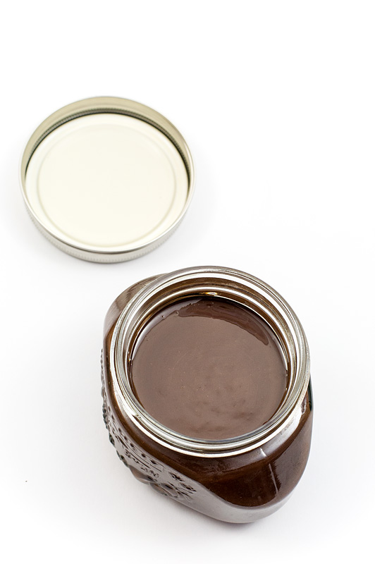 Homemade nutella top
