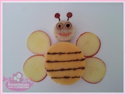 sanduíche de abelha