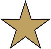 Estrella De 5 Puntas 10 Lados Estrella De 6 Puntas