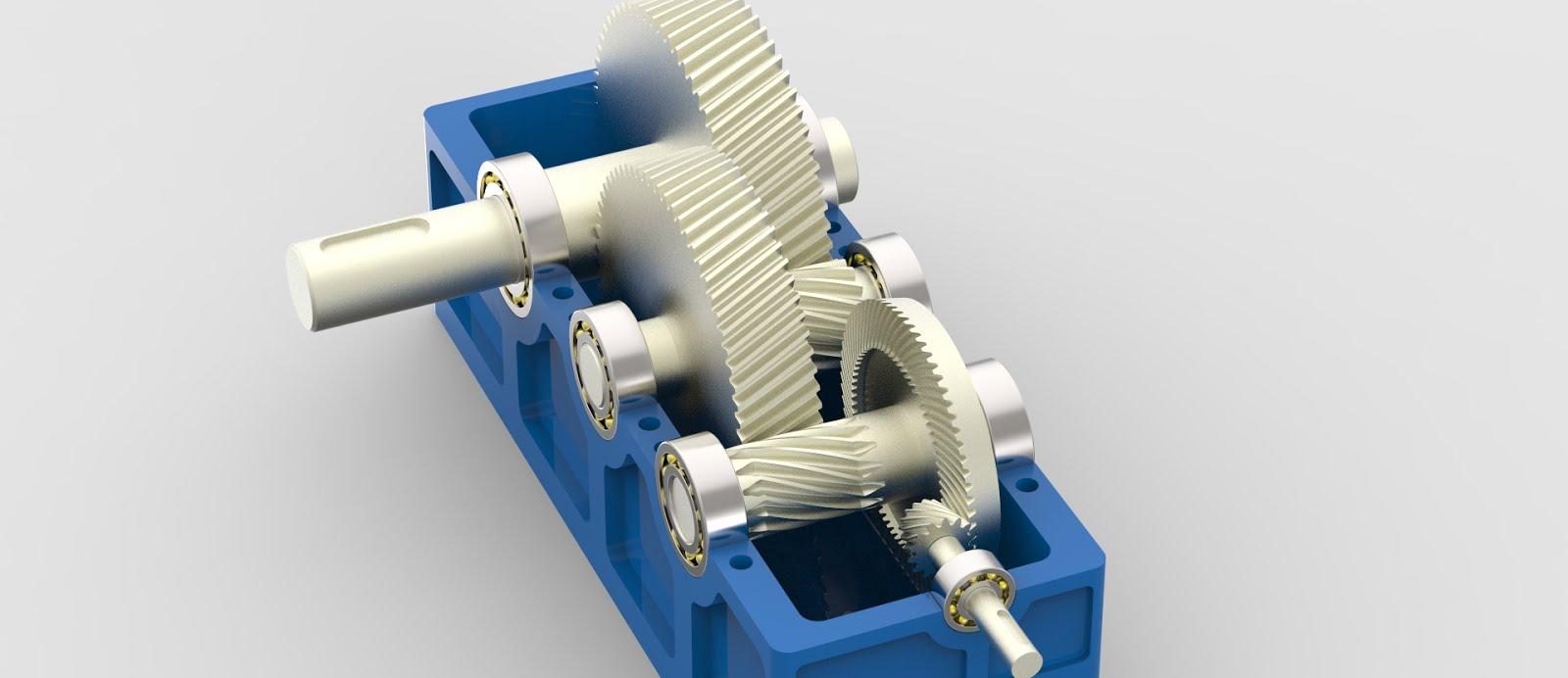 S Amp B Cad Design Reductor De Velocidad