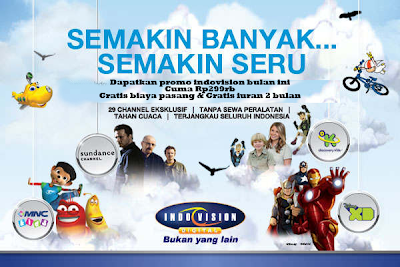 Promo Indovision Bulan Desember 2013