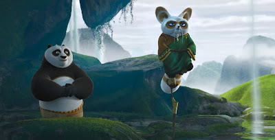 Beautiful Kung Fu Panda