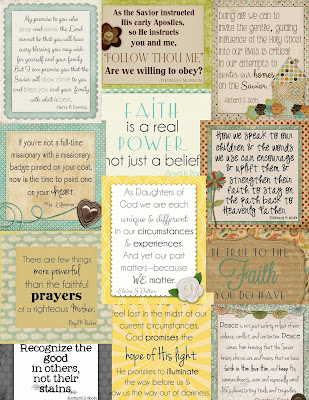 ... April 2013 Conference Quote Cards - Little LDS IdeasLittle LDS Ideas