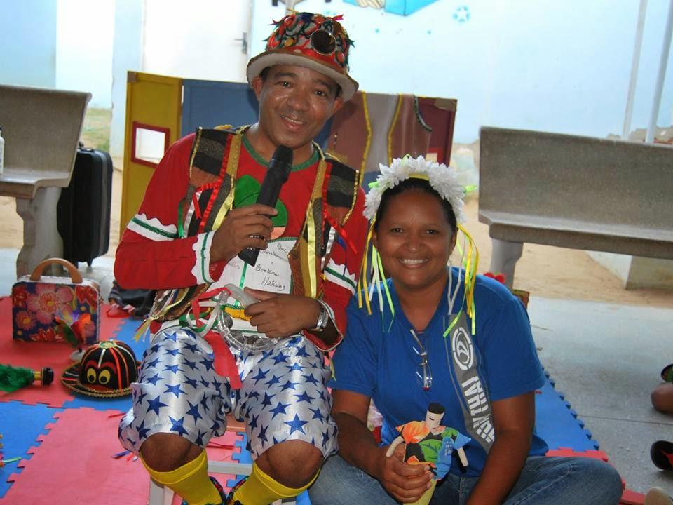 Secretaria de Assistência fazendo a alegria da Criançada.