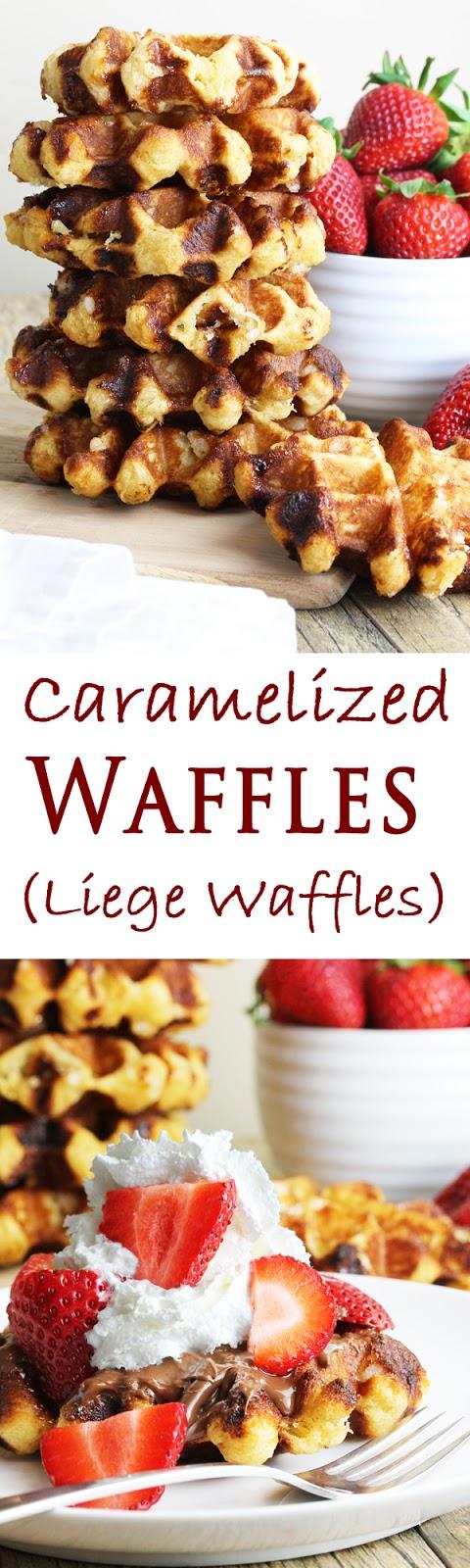 Caramelized Waffles (Liege Waffles)