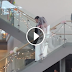 As the bride walks toward the aisle, a big surprise is waiting for her. She almost cried!