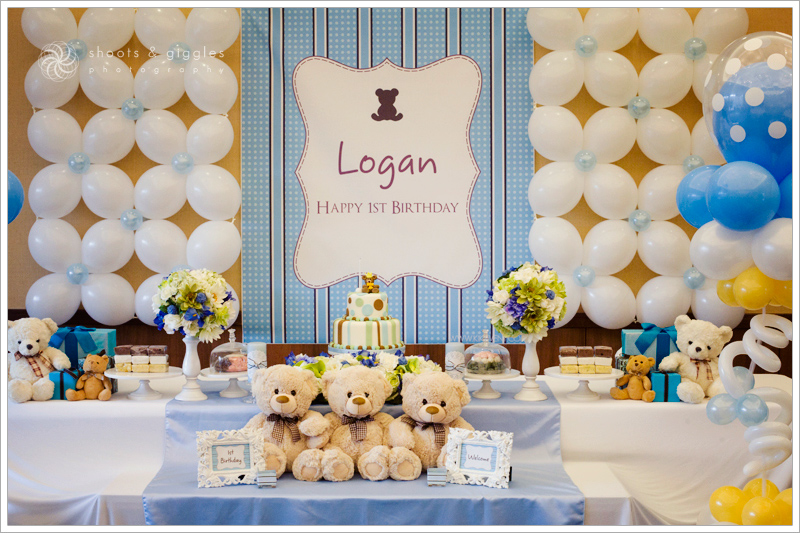 Party Teddy Bear Theme Life Baby Baby Showers Parties