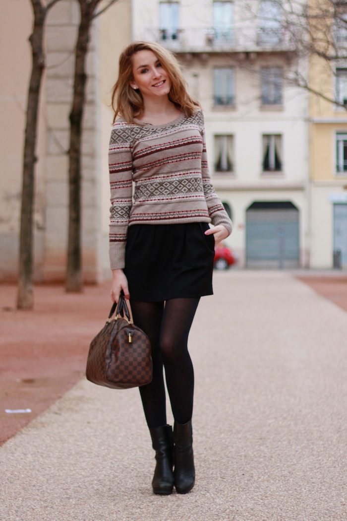 pull beige h&amp;m