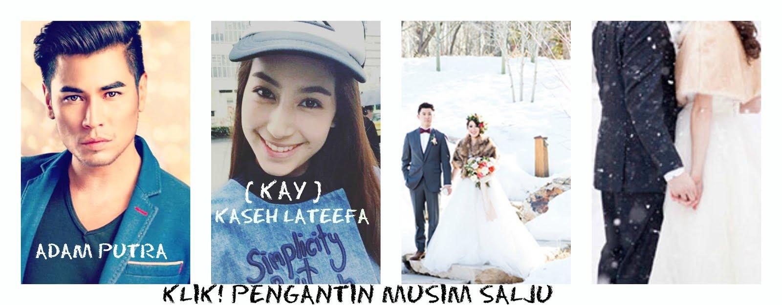 KLIK! > Kaseh Lateefa & Adam Putra