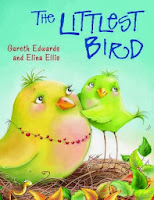 http://www.amazon.co.uk/Littlest-Bird-Gareth-Edwards/dp/1848123337/ref=sr_1_1?s=books&ie=UTF8&qid=1383142790&sr=1-1&keywords=littlest+bird+edwards