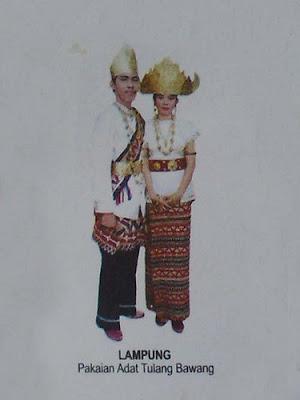 Pakaian Adat Tradisional Lampung Busana Tradisional