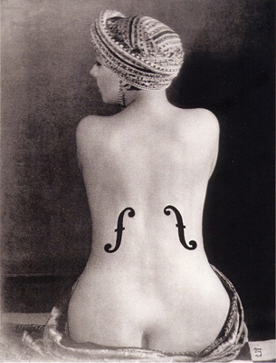 Le Violin d'Ingres, 1924 by Man Ray
