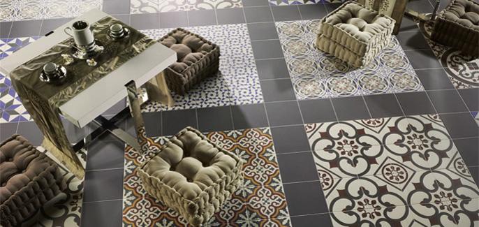 Los suelos hidr ulicos una maravilla decora y for Como abrillantar un suelo de terrazo