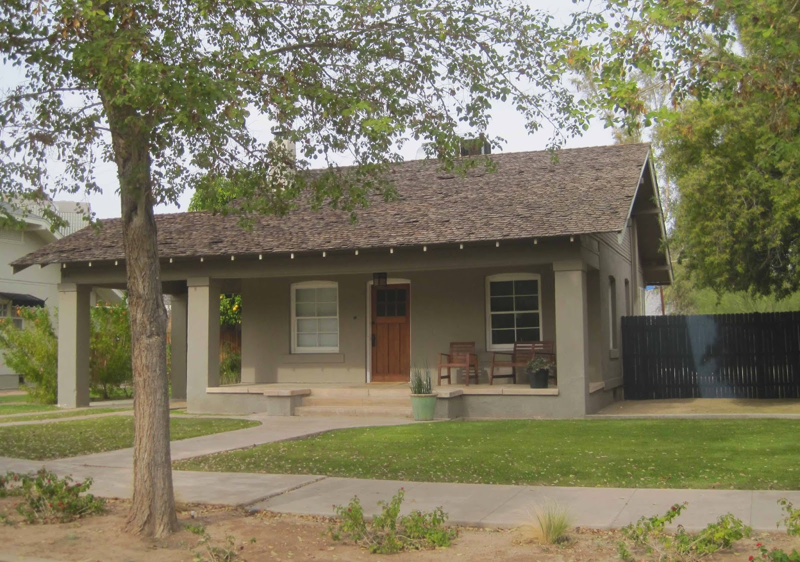 The historic small houses of phoenix arizona harrison for Small house design native