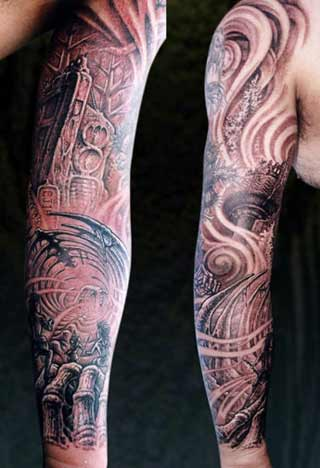 Arm Sleeve Tattoos for Women-Men