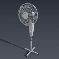3d Electric Fan2