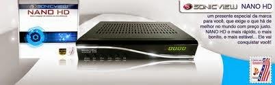 atualização SONIC VIEW NANO HD 06/02/2014