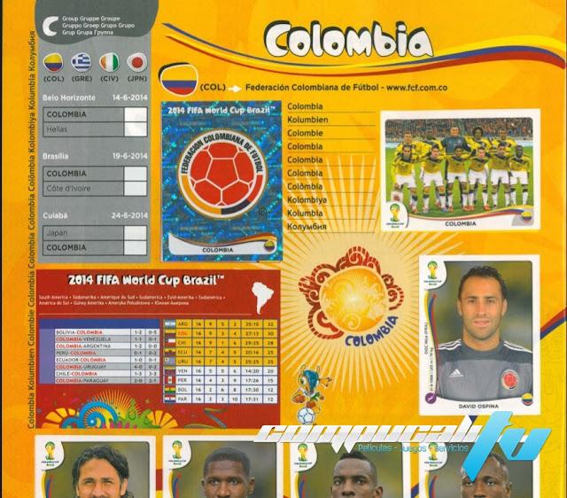 Panini: Álbum Oficial de la Copa Mundial Brasil 2014