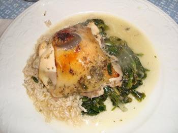 Chicken au Champaigne