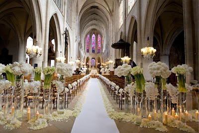 Church Wedding Ceremony Decoration Ideas