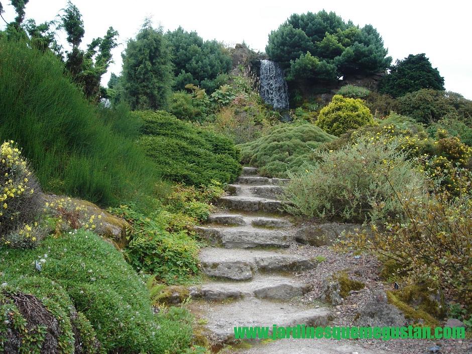 Jardines que me gustan como calcular la huella de una for Escalera de jardin de madera