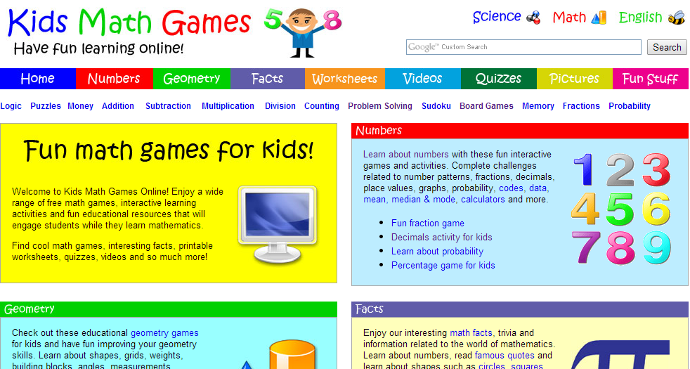 math worksheet : abcya!  educational computer games and apps for kids : Fun Math Games For Kindergarten Online Free