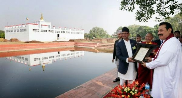 President Visits Lumbini, Birthplace Of The Buddha