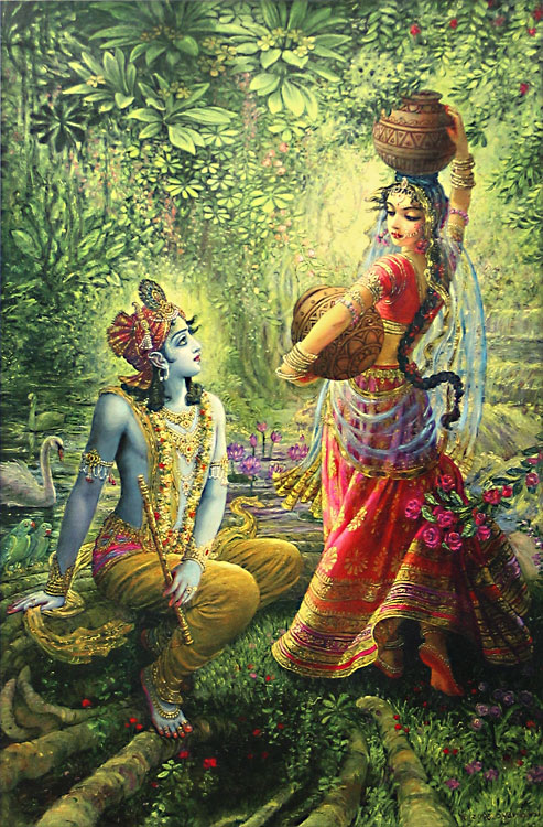 Ajit vadakayil holi celebrations immoral attack on for Mural radha krishna