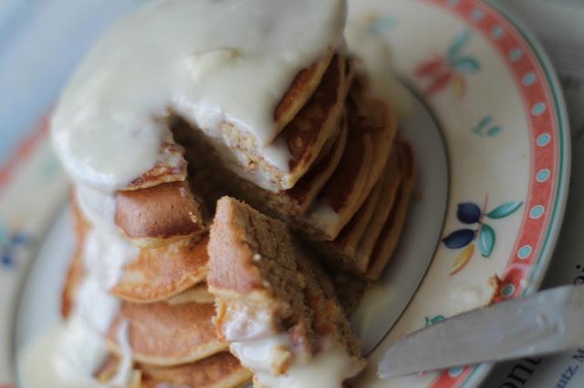 Gesunde Pancakes mit Topfen // #svetlanakocht / #topfenistquark / #fitdurch2015