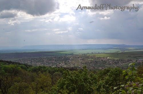 Панорама към Мадара
