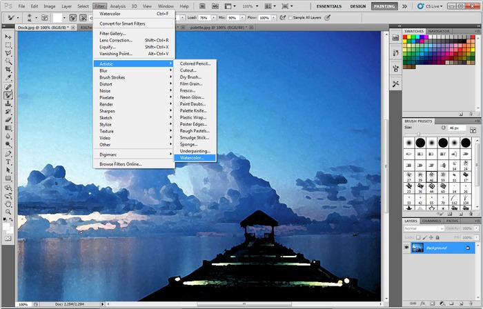 البرنامج Adobe Photoshop الداعمة اللغة العربيةبحجم 70Mb بوابة 2014,2015 adobe-photoshop-30.j