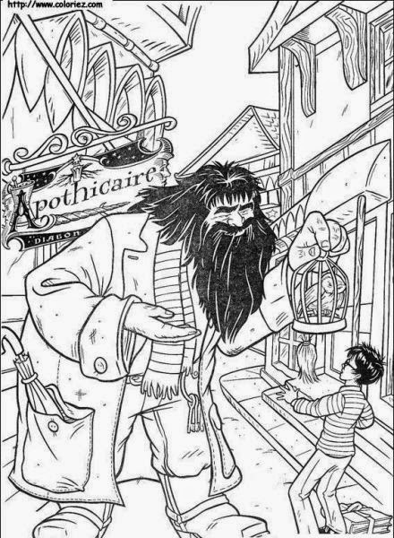 jogos de pintar herois  harry potter rony e hermione