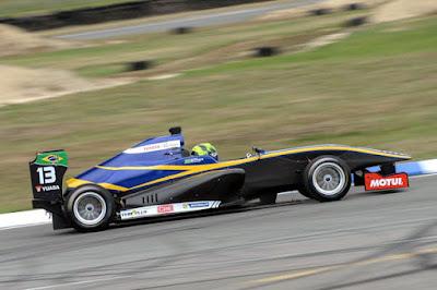 Rodrigo Baptista está cada vez mais rápido (Foto: TRS/Divulgação)