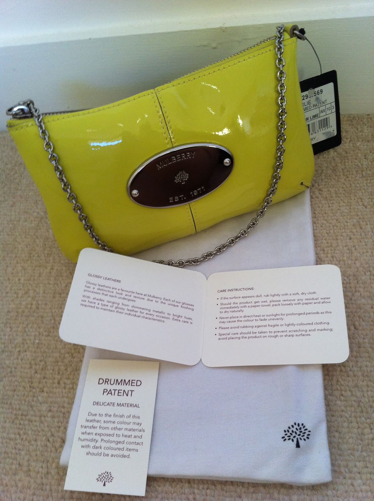 48986b333eb Discounted Genuine Handbags  (SOLD) Authentic Mulberry Charlie ...
