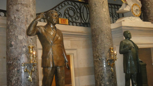 Washington DC - Capitólio - Sala das 40 Estátuas