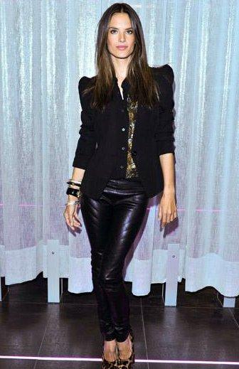 Alessandra Ambrosio in Victoria's secret Brunch