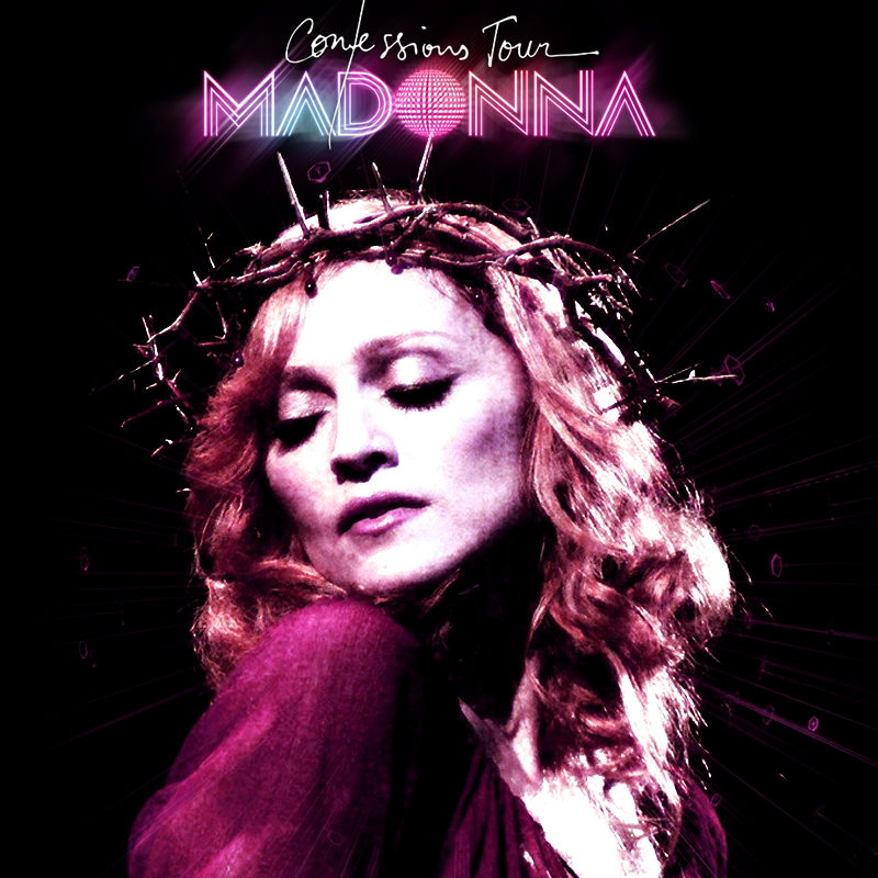 Confessions Tour. Madonna. 2 by vitoraws on DeviantArt