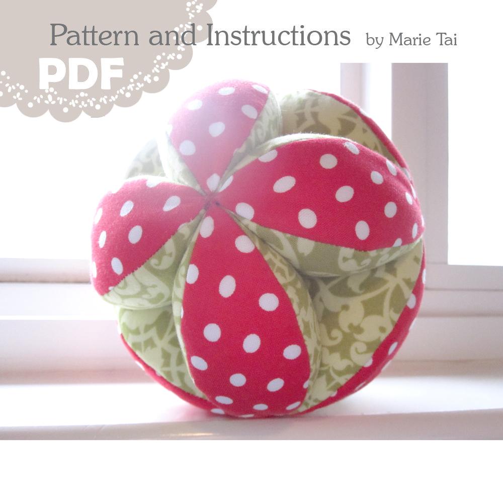 Puzzle Ball PDF Pattern