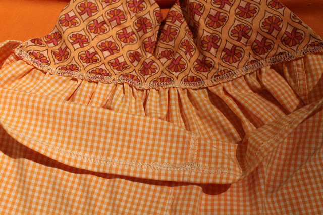Wanderlust Dress free pattern & tutorial {Men's shirt refashion} - Size: 6months