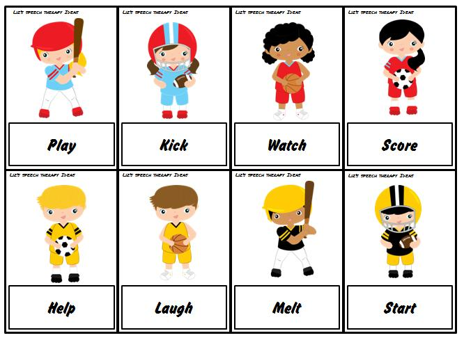 Free Worksheets spanish direct object pronouns worksheet : Lizu0026#39;s Speech Therapy Ideas: Sports Language Packets